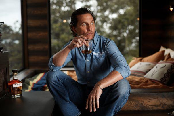 Matthew McConaughey And Wild Turkey