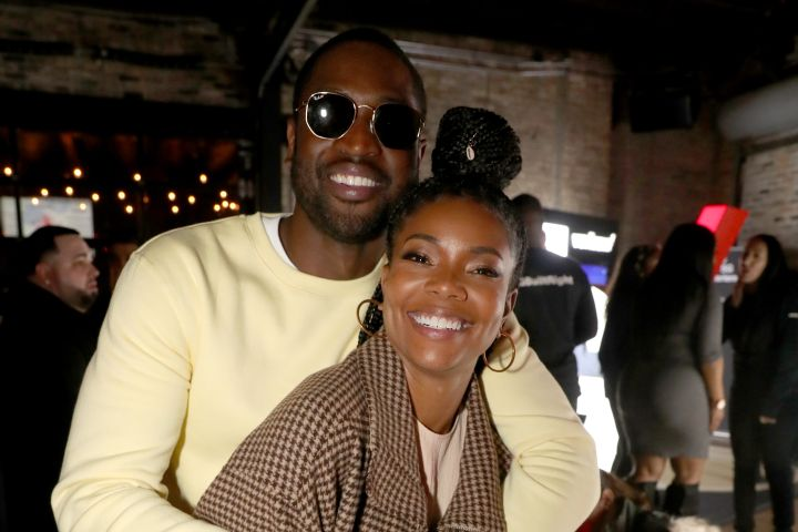 Dwyane Wade and Gabrielle Union. Photo: Johnny Nunez/Getty Images for Stance