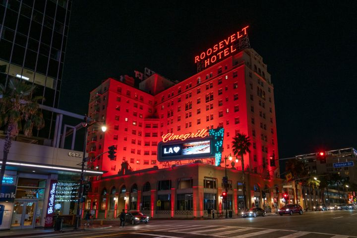 Hollywood Roosevelt Hotel. Photo: AaronP/Bauer-Griffin/GC Images/Getty Images