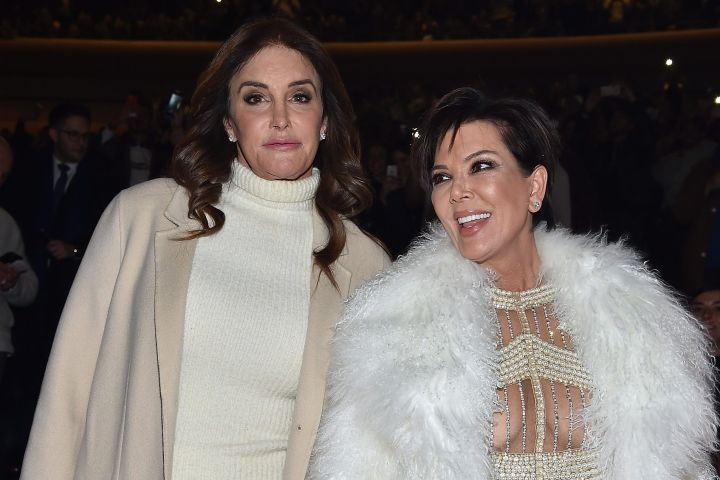 Caitlyn Jenner and Kris Jenner. Photo: Getty Images