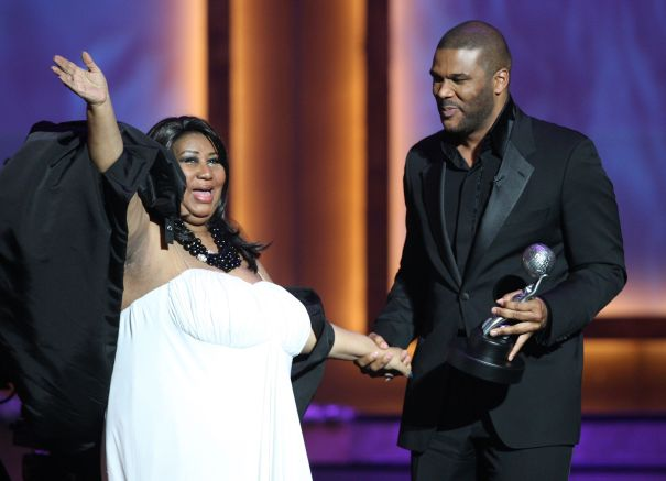 Sharing The Stage With Aretha Franklin