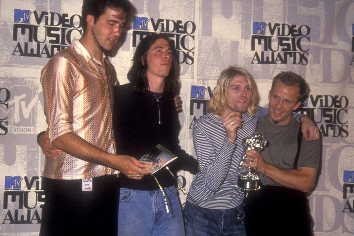 Nirvana. Credit: Getty