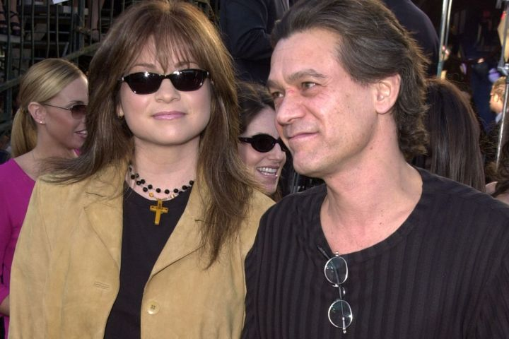 Eddie Van Halen & Valerie Bertinelli. Photo: Getty Images