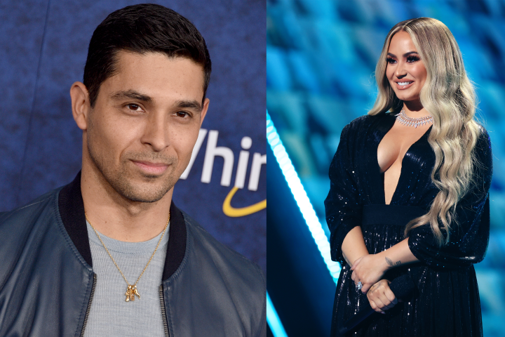 GettyImages 864298194 Exes Demi Lovato and Wilmer Valderrama Reunite as star crossed Lovers in Netflix's Charming.