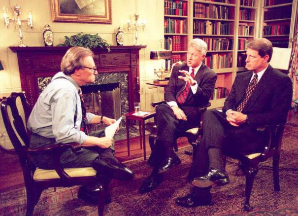 Larry King's Presidential Popularity