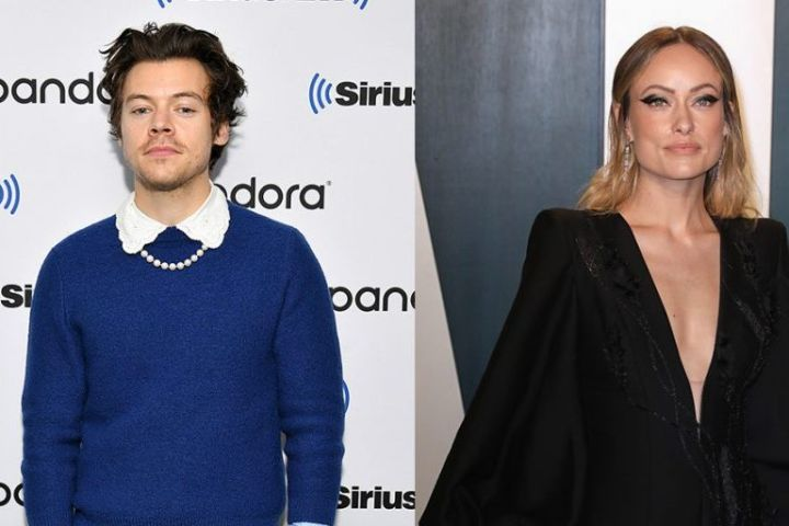 Harry Styles and Olivia Wilde. Photo: Getty Images