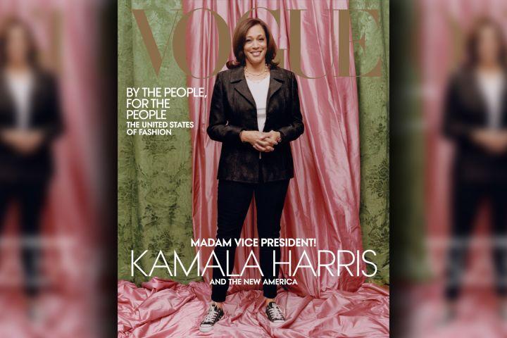 Kamala Harris. Photo: Vogue