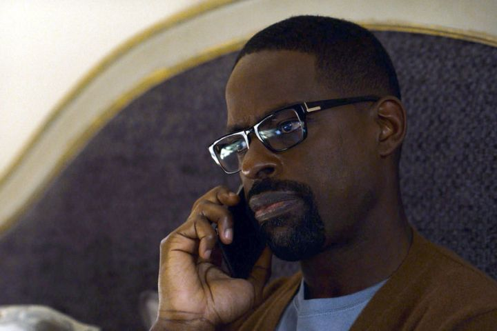 """THIS IS US -- """"A Long Road Home"""" Episode 505 -- Pictured in this screen grab: Sterling K. Brown as Randall -- (Photo by: NBC)"""