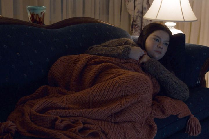 "THIS IS US -- ""A Long Road Home"" Episode 505 -- Pictured in this screen grab: Hannah Zeile as Kate"