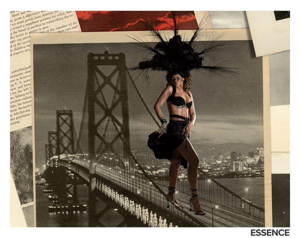 Rihanna. Photo: Lorna Simpson/Essence