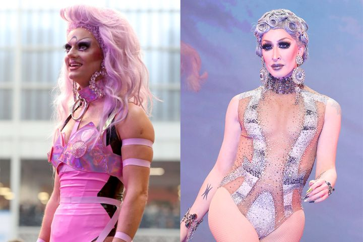 Crystal (L) and Detox. Photos: Getty Images