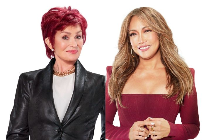 Sharon Osbourne and Carrie Ann Inaba