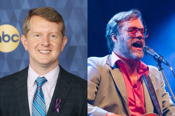 Ken Jennings, John Roderick. Photo: Getty Images