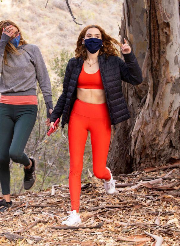 Zoey Deutch Takes A Hike