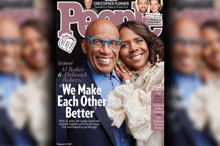 Al Roker and Deborah Roberts. Photo: PEOPLE's The Love Issue