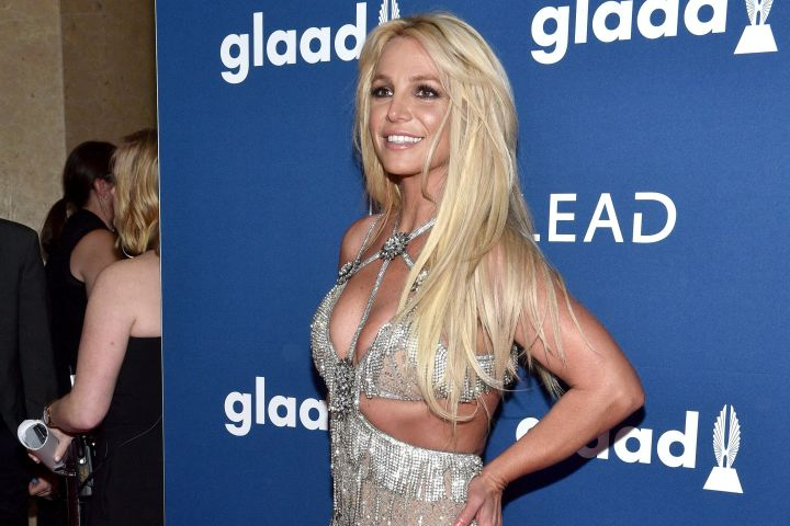 Britney Spears attends the 29th Annual GLAAD Media Awards at The Beverly Hilton Hotel on April 12, 2018 in Beverly Hills, California.