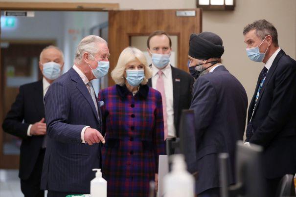 Prince Charles And Camilla Visit Birmingham Hospital