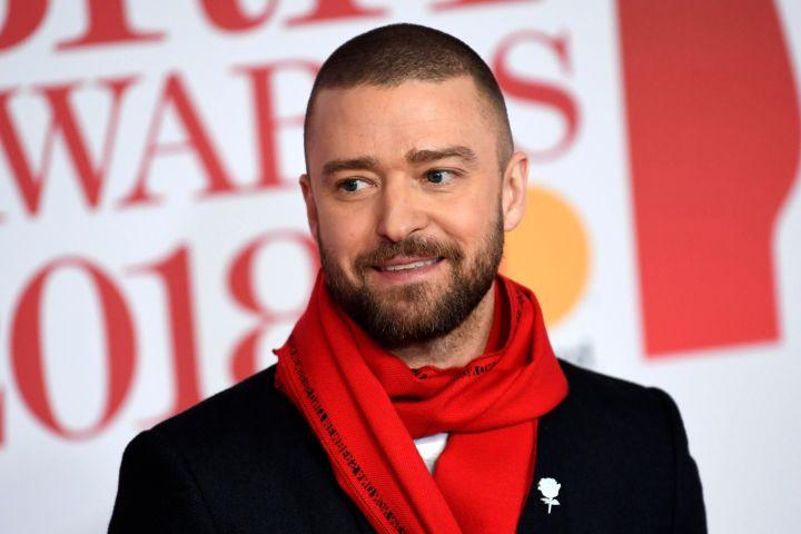 Justin Timberlake . Photo: EPA/NEIL HALL/CP Images