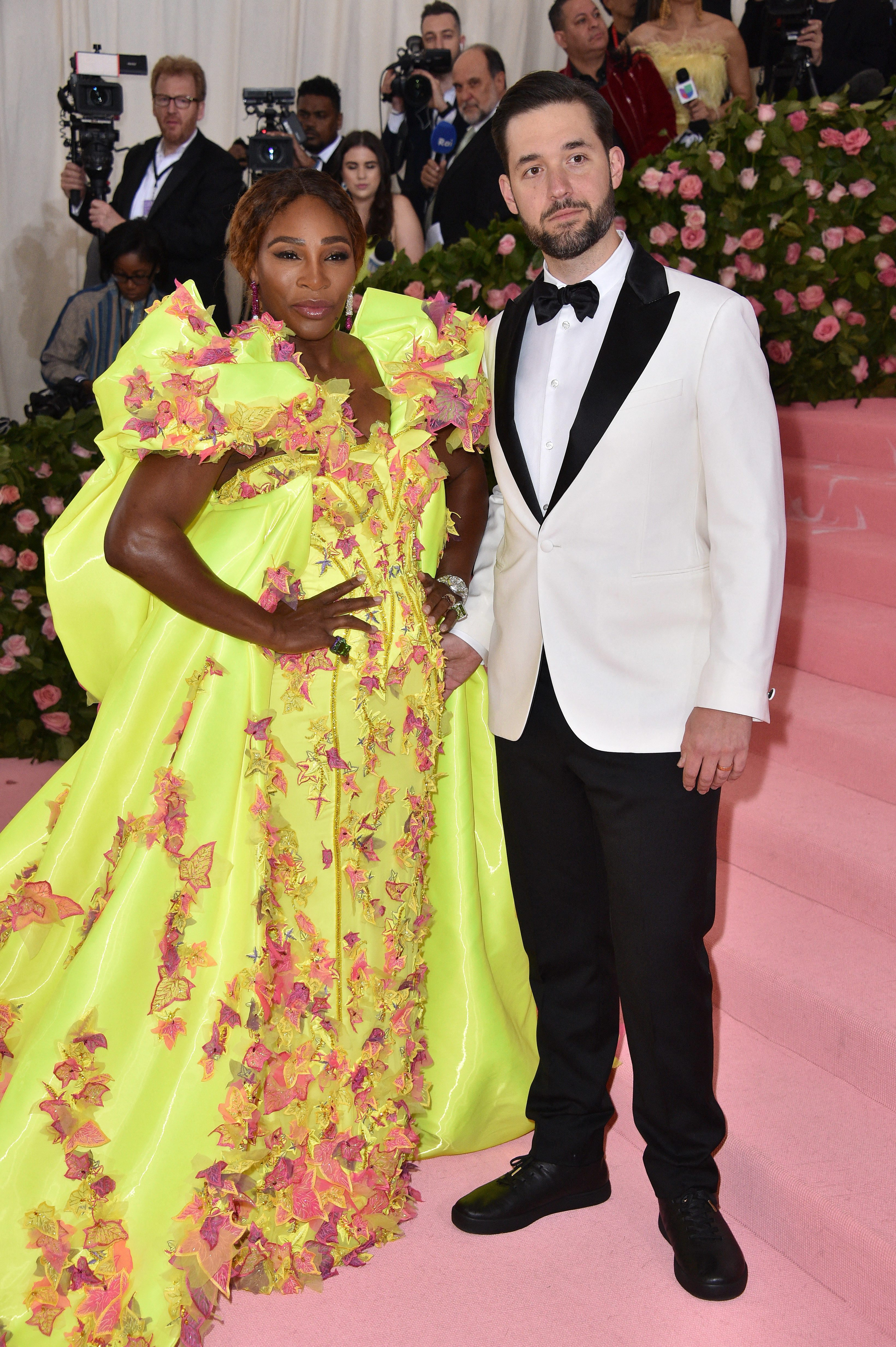 Alexis Ohanian Shows Off Prized Rookie Card Of Wife Serena Williams