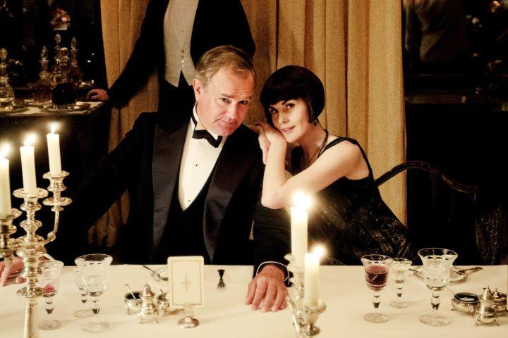 Hugh Bonneville and Michelle Dockery. Focus Features/CPImages