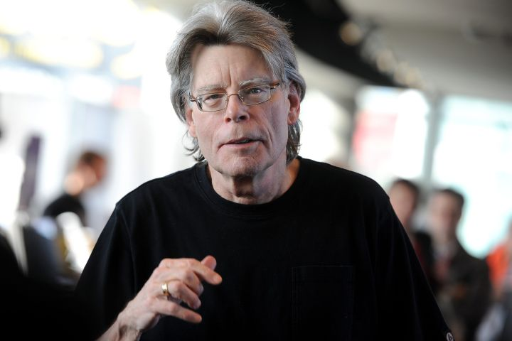 Stephen King. Photo: CPImages