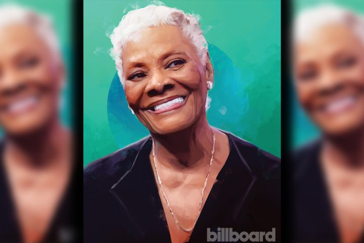 Dionne Warwick. Photo: Original Illustration by Alexis Franklin/Courtesy of Billboard