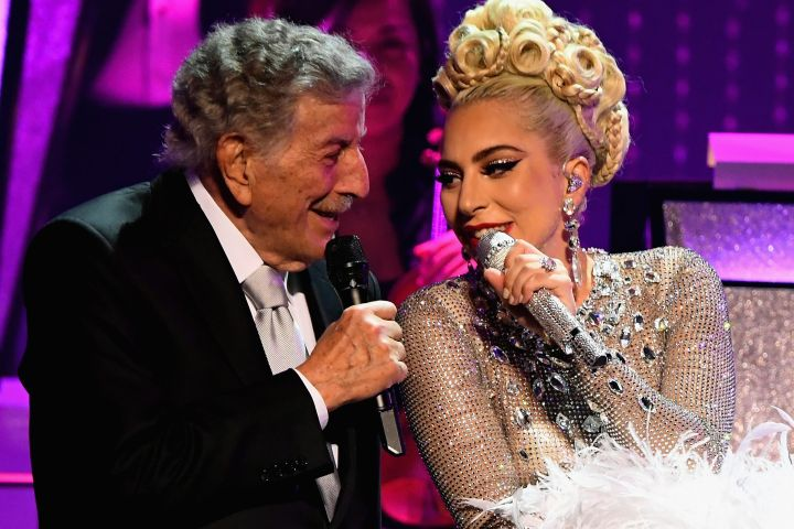 Lady Gaga and Tony Bennett. Photo: Getty Images