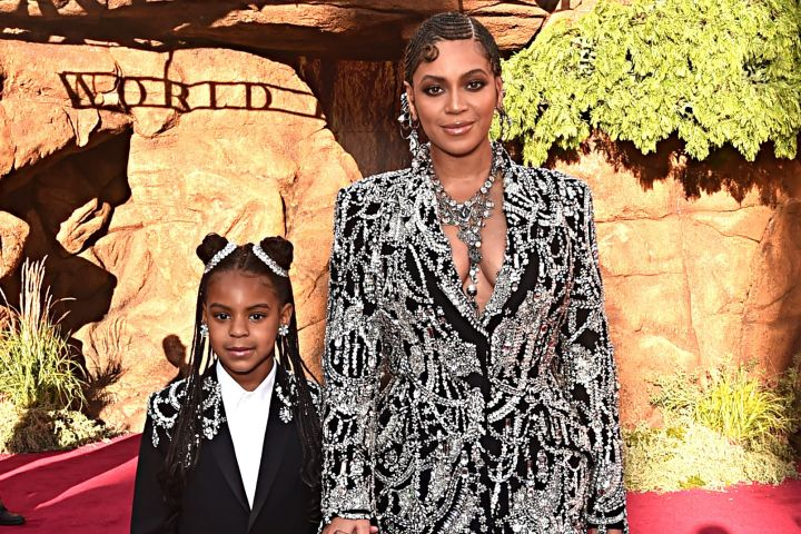 Blue Ivy Carter and Beyonce. Photo: Getty Images