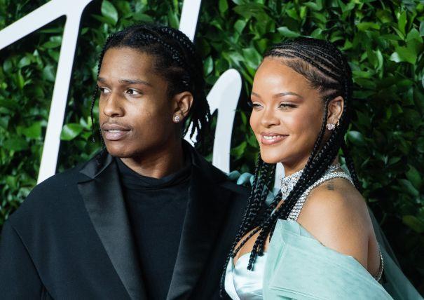 Rihanna + ASAP Rocky