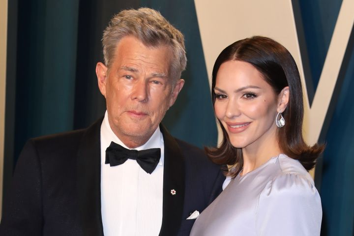 Katharine McPhee and David Foster. Photo: Getty Images