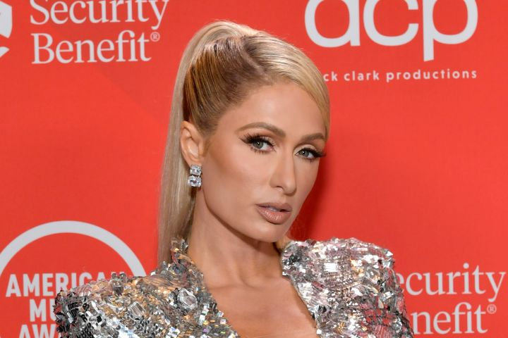 Paris Hilton - 2020 American Music Awards - Backstage