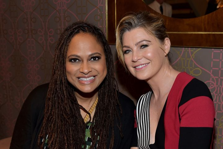 Ava DuVernay and Ellen Pompeo. Photo: Donato Sardella/Getty Images for InStyle