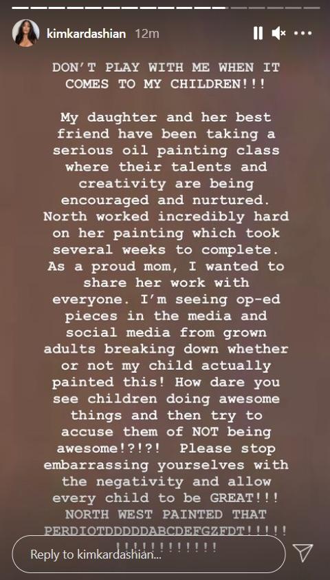 Photo: Kim Kardashian/Instagram