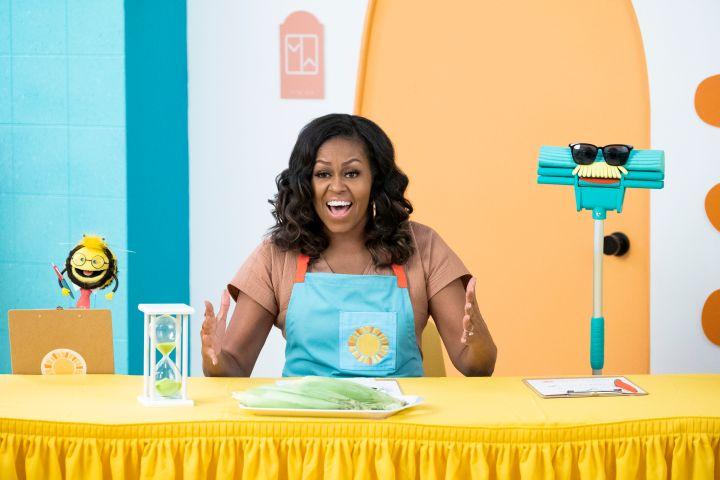 Michelle Obama. Photo: Netflix