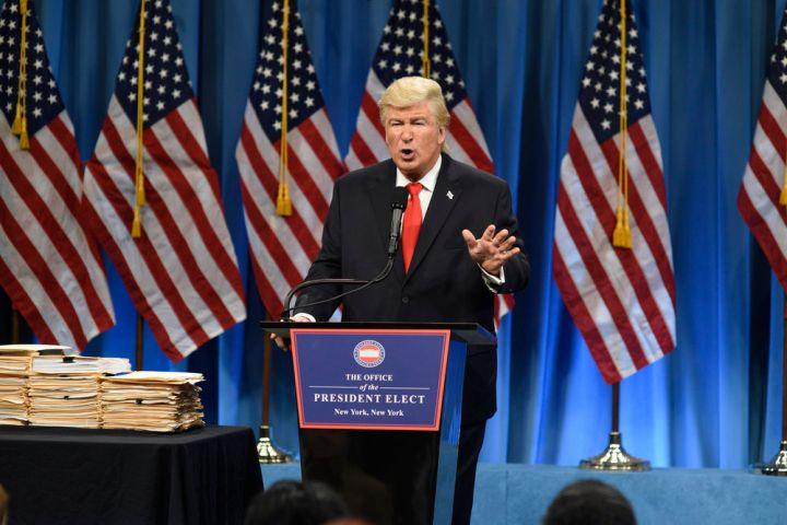 Alec Baldwin as Donald Trump