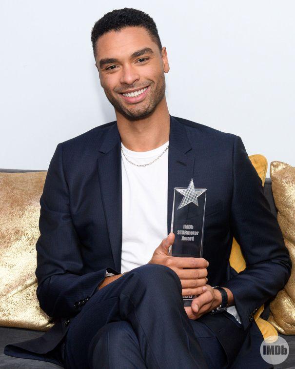 Regé-Jean Page Receives IMDb STARmeter Award