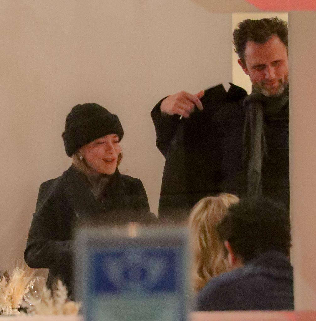 Mary-Kate Olsen and John Cooper.
