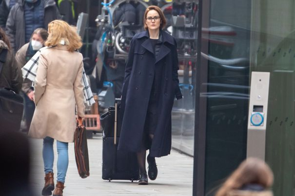 Michelle Dockery Shoots 'Anatomy Of A Scandal'