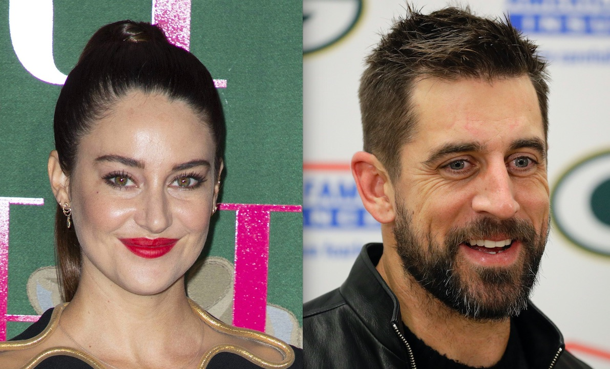 Shailene Woodley And Aaron Rodgers Spend Valentine S Day In Montreal After Engagement Announcement Etcanada Com