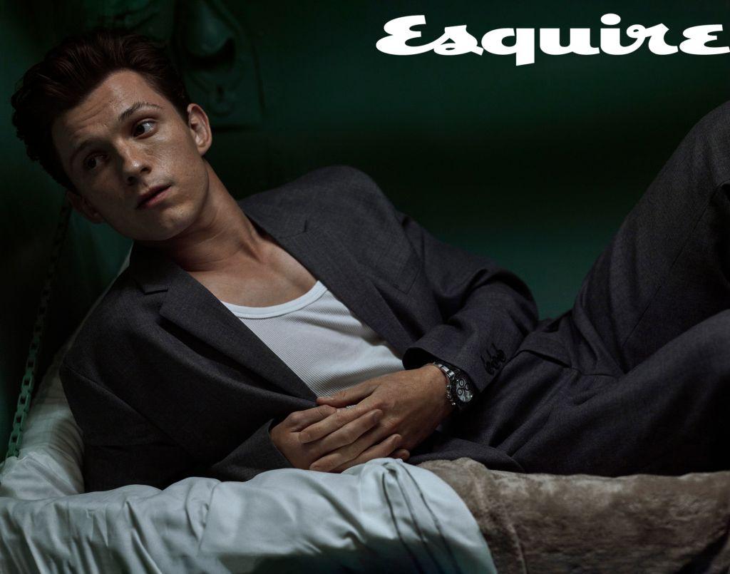 Tom Holland. Photo: Robbie Fimmano for Esquire