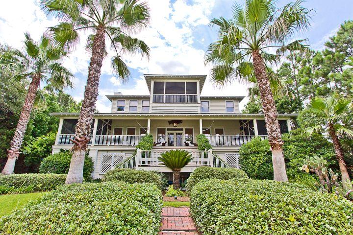 Sandra Bullock's George home. Photo: Tybee Vacation Rentals
