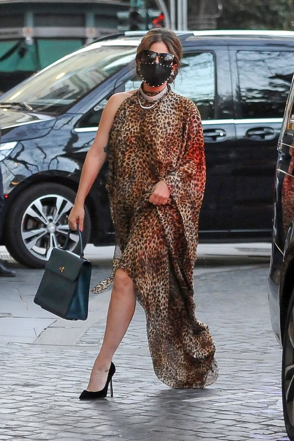 Lady Gaga Out And About In Rome