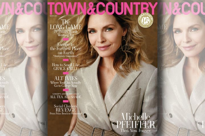 Michelle Pfeiffer. Photo: Shaniqwa Jarvis for Town & Country