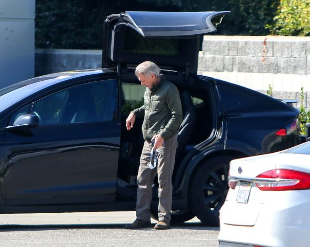Harrison Ford Arrives In Style