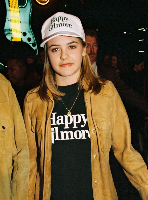 Alicia Silverstone And Her 'Happy Gilmore' T-Shirt