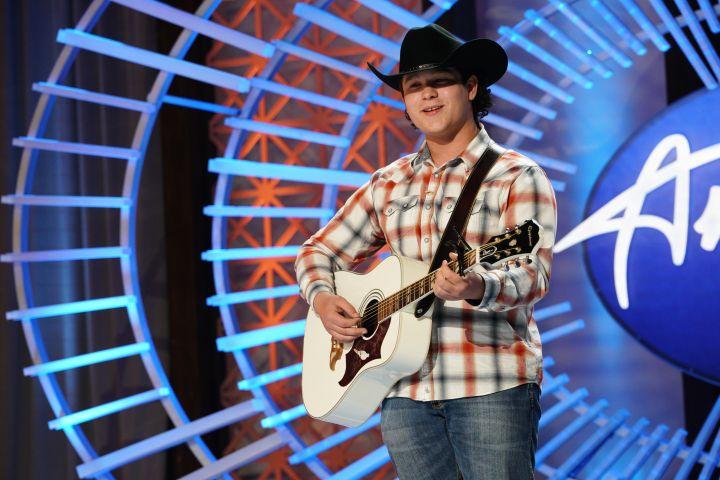 Caleb Kennedy on American Idol