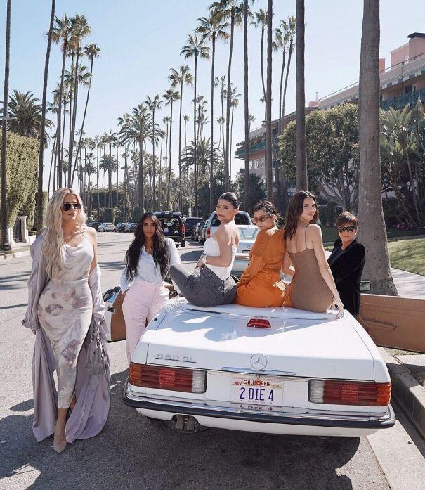 Kris Jenner & Her Five Daughters