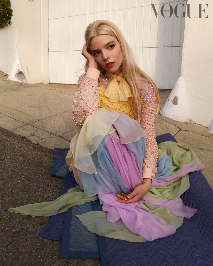 Anya Taylor-Joy. Photo: Greg Williams for British Vogue