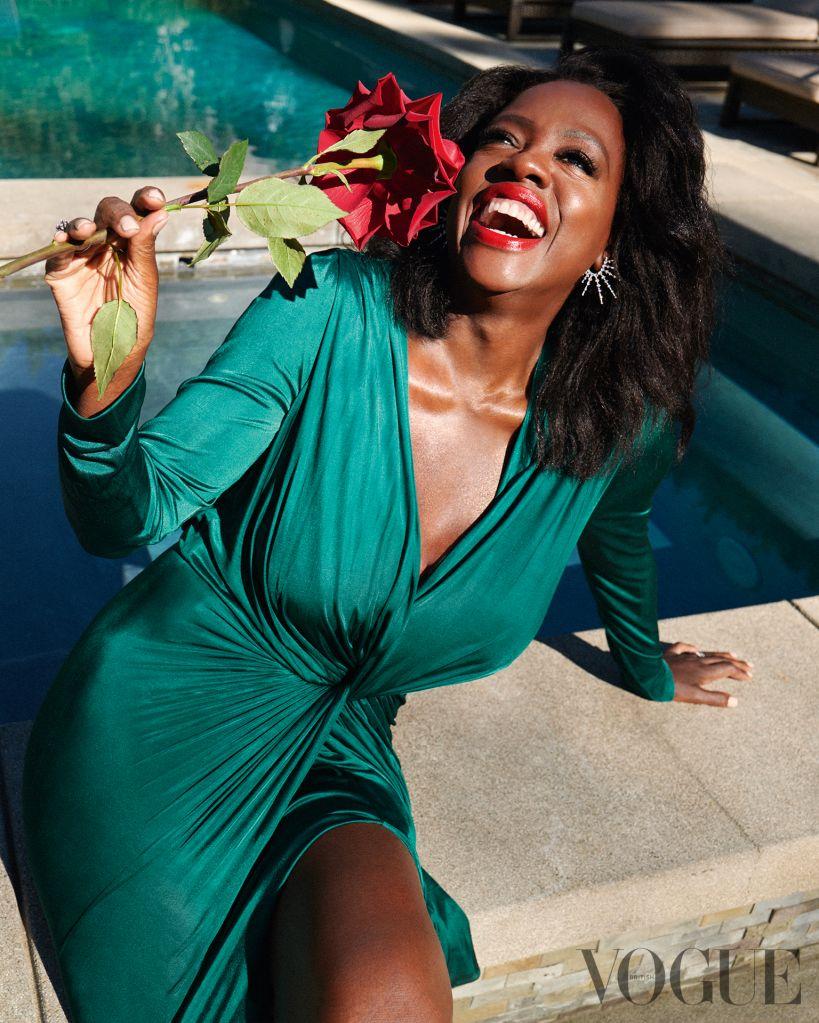 Viola Davis. Photo: Greg Williams for British Vogue