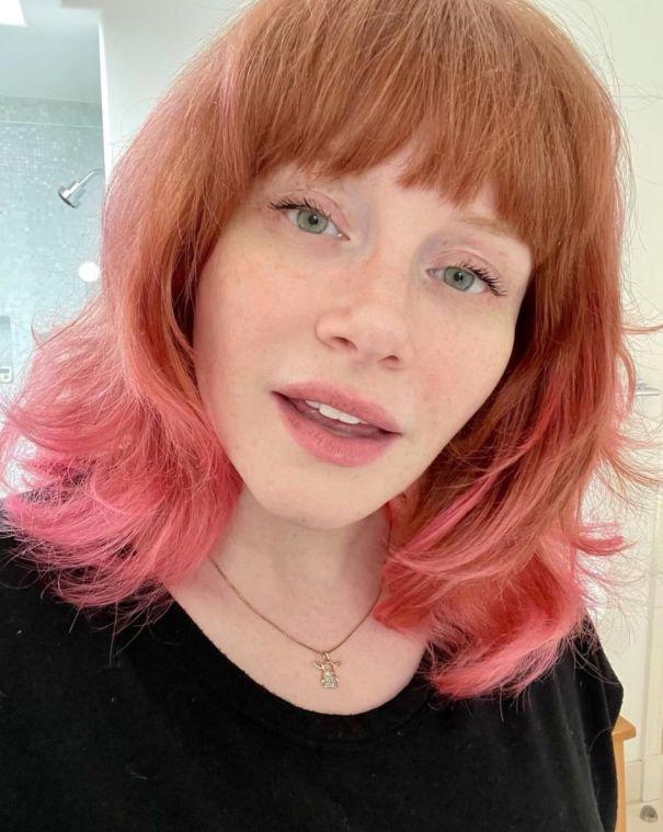 Bryce Dallas Howard Goes Pink